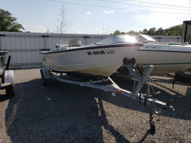 Salvage boats for sale at Fredericksburg, VA auction: 2002 Triumph 170 CC