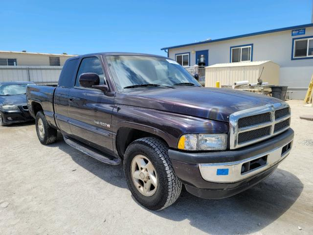 Salvage cars for sale from Copart Kapolei, HI: 1998 Dodge RAM 1500