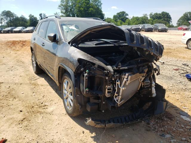Salvage cars for sale from Copart China Grove, NC: 2018 Jeep Cherokee L
