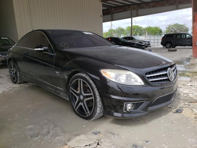 Salvage cars for sale at Homestead, FL auction: 2007 Mercedes-Benz CL 600