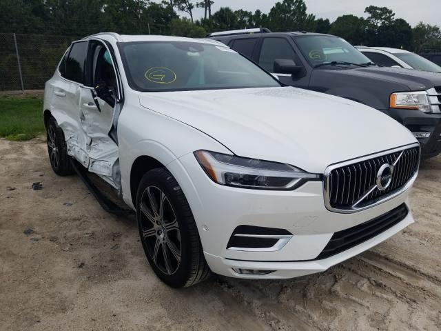 Salvage cars for sale at Fort Pierce, FL auction: 2021 Volvo XC60 T5 IN