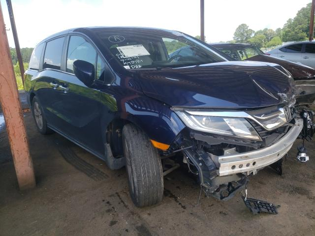Salvage cars for sale from Copart Fairburn, GA: 2018 Honda Odyssey