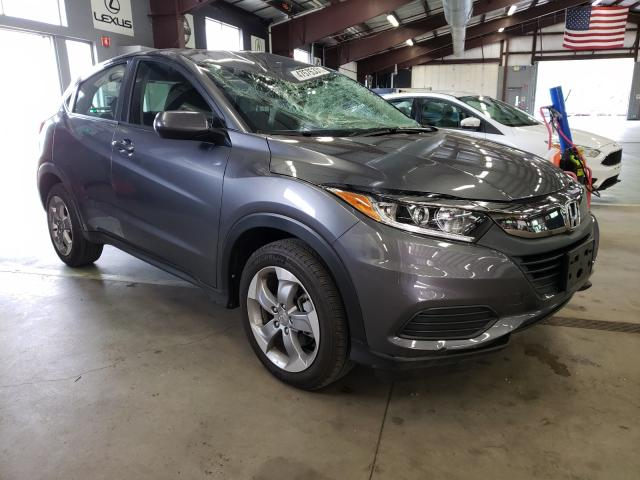 Salvage cars for sale from Copart East Granby, CT: 2019 Honda HR-V LX
