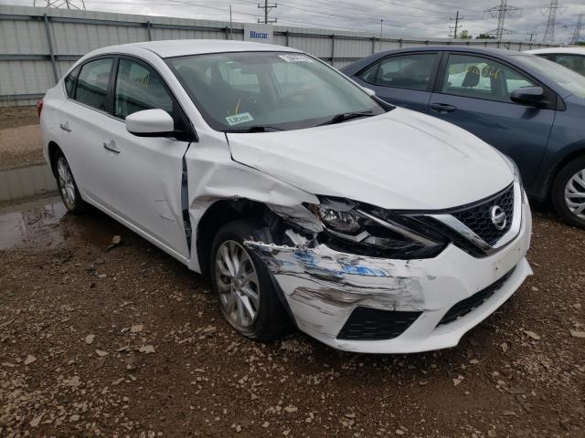 Salvage cars for sale from Copart Elgin, IL: 2019 Nissan Sentra S