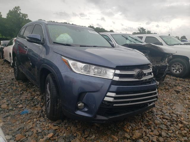 Salvage cars for sale from Copart Montgomery, AL: 2018 Toyota Highlander