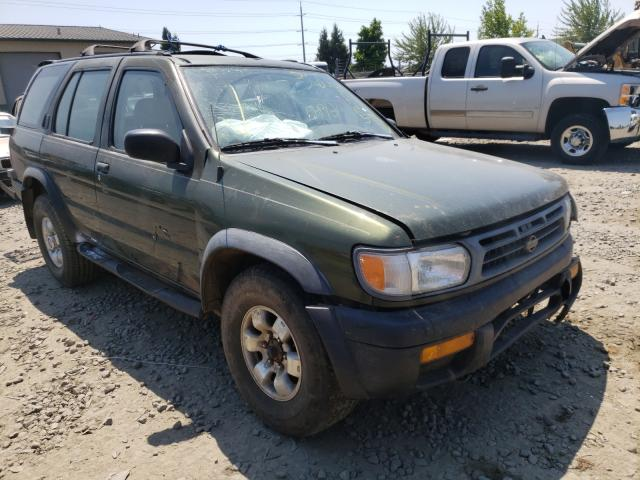 Salvage cars for sale from Copart Eugene, OR: 1997 Nissan Pathfinder