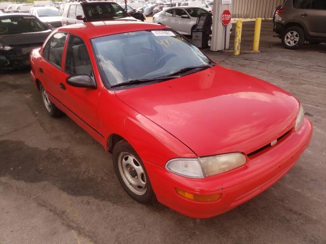 GEO salvage cars for sale: 1996 GEO Prizm Base