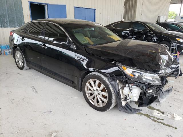 Vehiculos salvage en venta de Copart Homestead, FL: 2015 KIA Optima EX