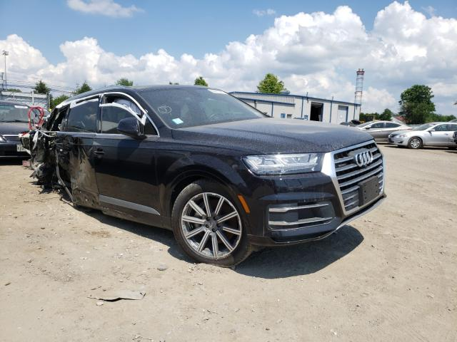 Salvage cars for sale from Copart Finksburg, MD: 2019 Audi Q7 Premium