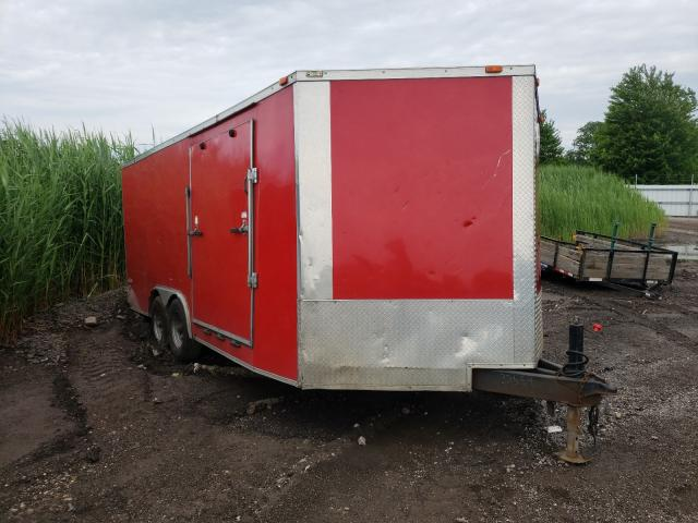 Freedom salvage cars for sale: 2015 Freedom 16FT Trailer