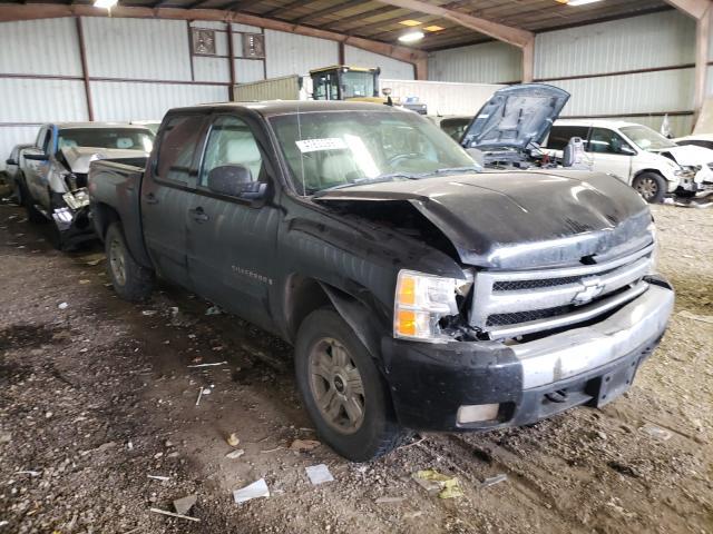Salvage trucks for sale at Houston, TX auction: 2007 Chevrolet Silverado