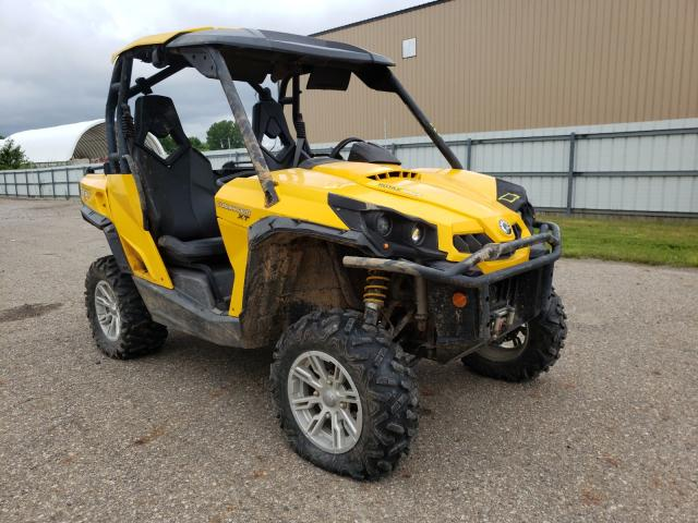 Salvage cars for sale from Copart Lansing, MI: 2013 Can-Am Camandor