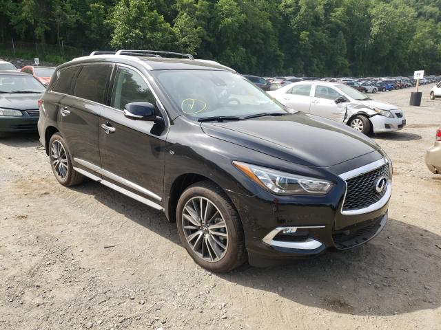 Infiniti salvage cars for sale: 2020 Infiniti QX60 Luxe