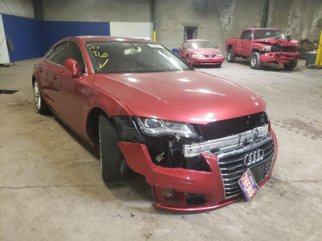 Salvage cars for sale from Copart Chalfont, PA: 2014 Audi A7 Premium