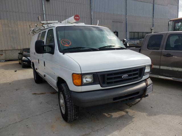 Salvage cars for sale from Copart Lawrenceburg, KY: 2007 Ford Econoline
