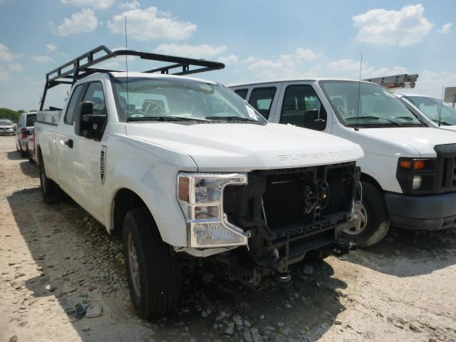 Salvage cars for sale from Copart Grand Prairie, TX: 2020 Ford F250 Super