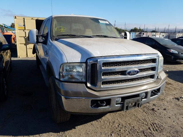 Salvage cars for sale from Copart San Martin, CA: 2006 Ford F350 SRW S