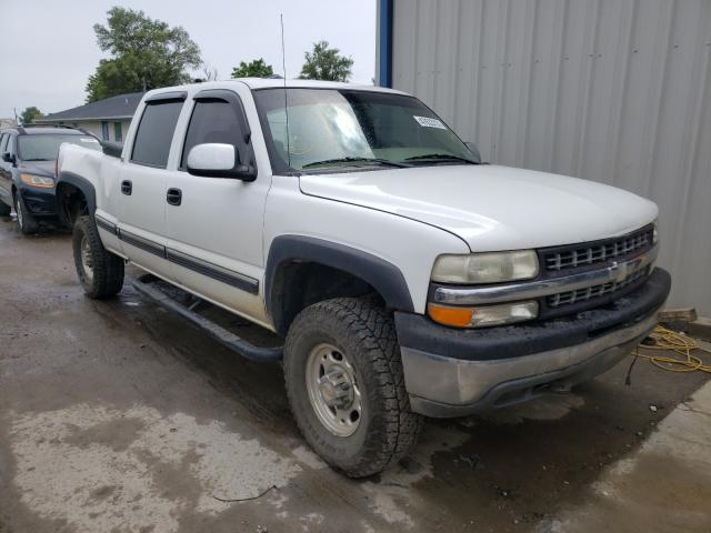 Salvage cars for sale from Copart Sikeston, MO: 2002 Chevrolet Silverado