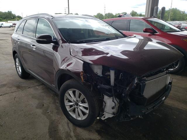 KIA Sorento salvage cars for sale: 2019 KIA Sorento