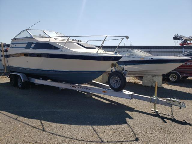Salvage cars for sale from Copart Sacramento, CA: 1984 Bayliner Boat
