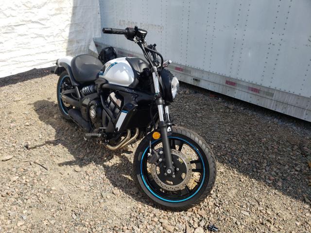 Salvage motorcycles for sale at Charles City, VA auction: 2021 Kawasaki EN650 C