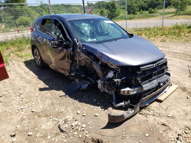 Salvage cars for sale from Copart Madison, WI: 2019 Honda CR-V EXL