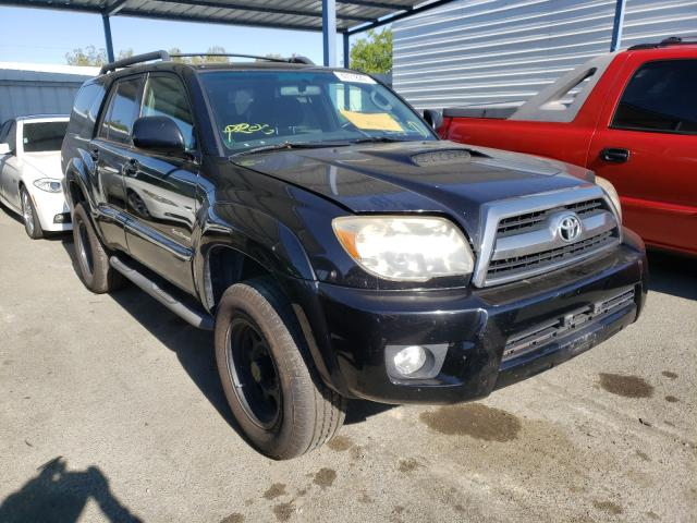 Salvage cars for sale at Martinez, CA auction: 2007 Toyota 4runner SR