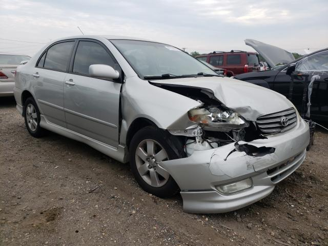 Salvage cars for sale from Copart Baltimore, MD: 2003 Toyota Corolla CE