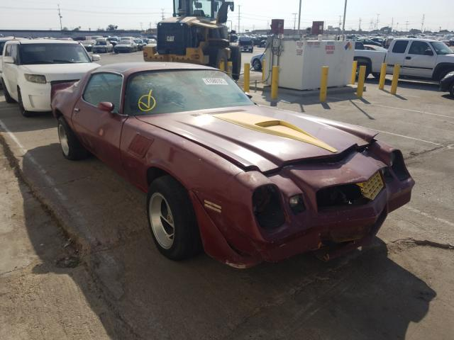 Chevrolet Camaro salvage cars for sale: 1979 Chevrolet Camaro