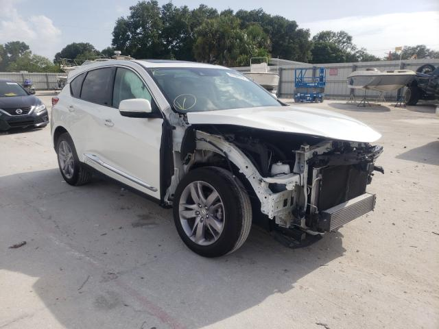 Salvage cars for sale from Copart Punta Gorda, FL: 2019 Acura RDX Advance