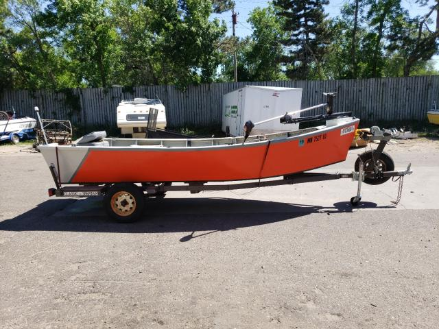 Salvage cars for sale from Copart Ham Lake, MN: 1985 Homemade Trailer