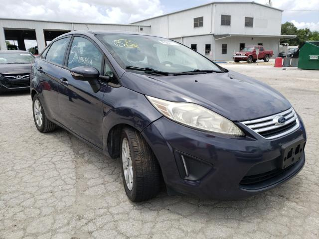 Salvage cars for sale from Copart Riverview, FL: 2013 Ford Fiesta SE
