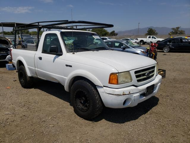 Salvage cars for sale from Copart San Diego, CA: 2002 Ford Ranger