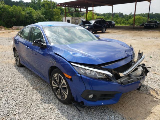 Vehiculos salvage en venta de Copart Fairburn, GA: 2016 Honda Civic EXL