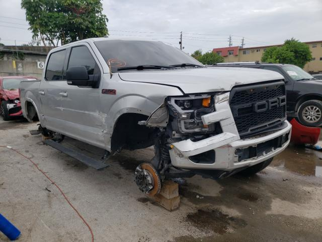Salvage cars for sale from Copart Opa Locka, FL: 2015 Ford F150 Super