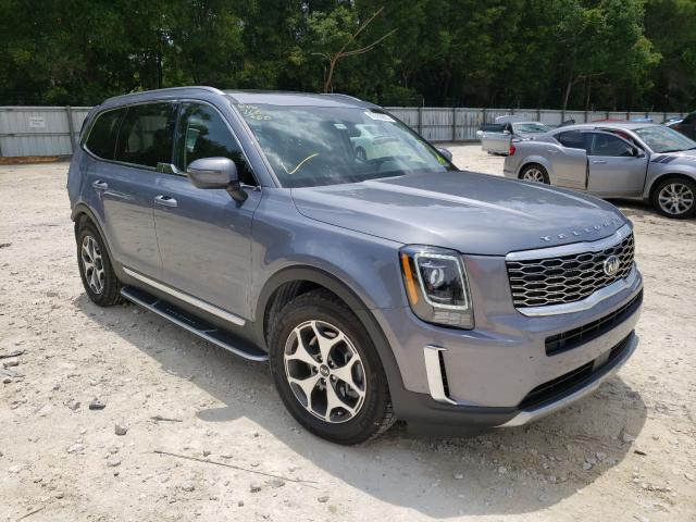 Salvage cars for sale from Copart Ocala, FL: 2020 KIA Telluride