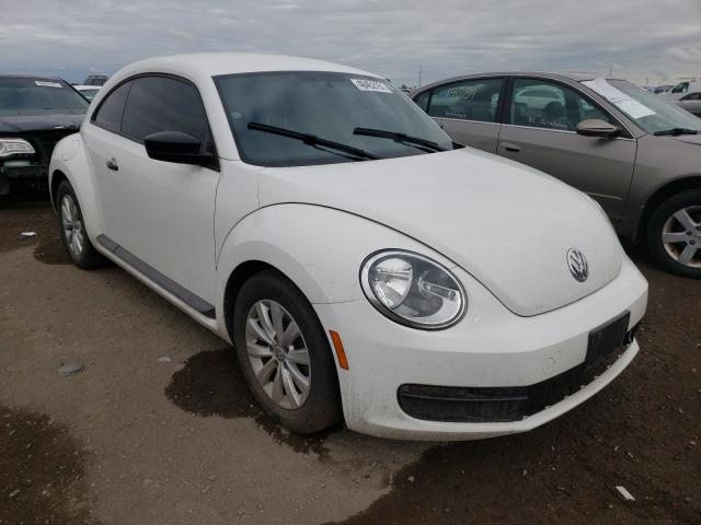 Salvage cars for sale from Copart Brighton, CO: 2013 Volkswagen Beetle