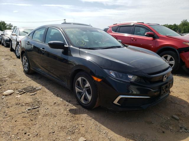 Salvage cars for sale from Copart Hillsborough, NJ: 2019 Honda Civic LX