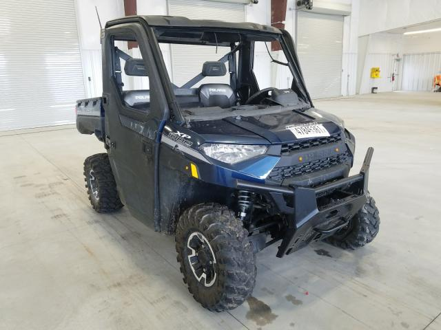 Salvage cars for sale from Copart Avon, MN: 2019 Polaris Ranger XP