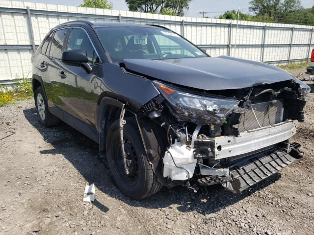 Salvage cars for sale from Copart Albany, NY: 2019 Toyota Rav4 LE