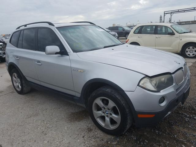 Salvage cars for sale from Copart New Orleans, LA: 2007 BMW X3 3.0SI