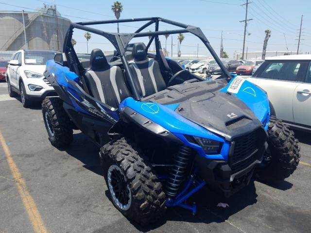 Salvage cars for sale from Copart Wilmington, CA: 2021 Kawasaki KRF 1000 A