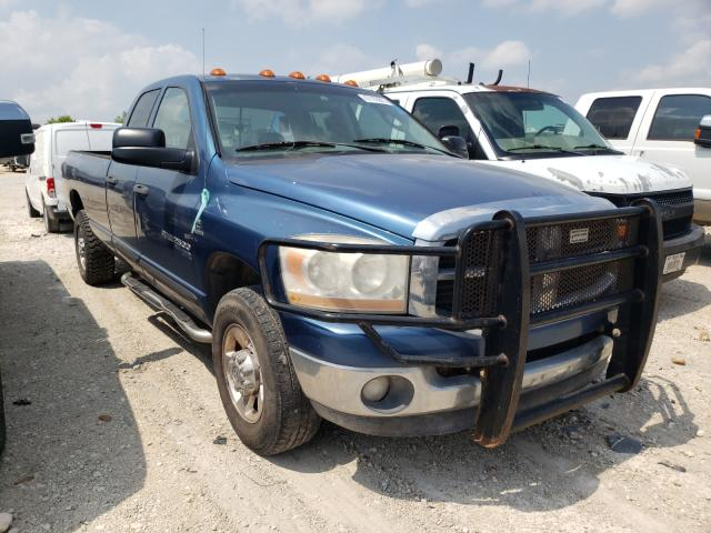 Salvage cars for sale from Copart San Antonio, TX: 2006 Dodge RAM 2500 S