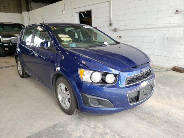 Salvage cars for sale from Copart Blaine, MN: 2013 Chevrolet Sonic LT
