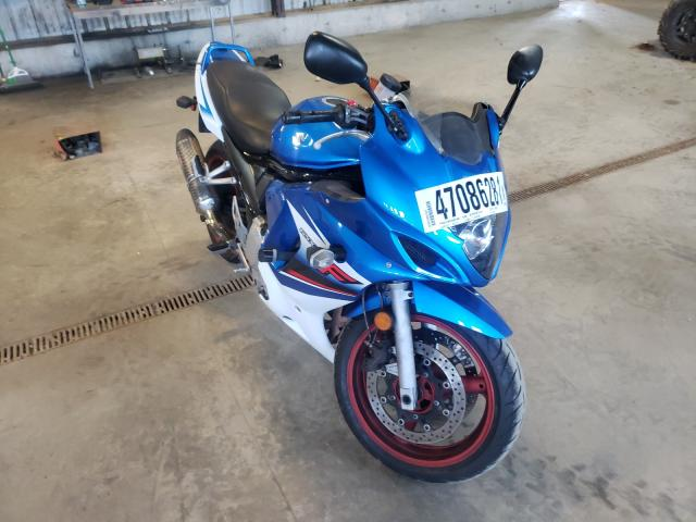 Salvage motorcycles for sale at Candia, NH auction: 2009 Suzuki GSX650 F