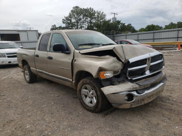 Salvage cars for sale from Copart Florence, MS: 2002 Dodge RAM 1500
