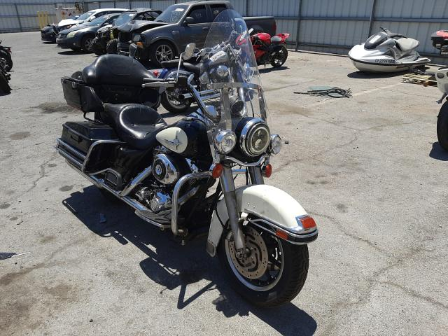 Salvage motorcycles for sale at Las Vegas, NV auction: 2005 Harley-Davidson Flhpi