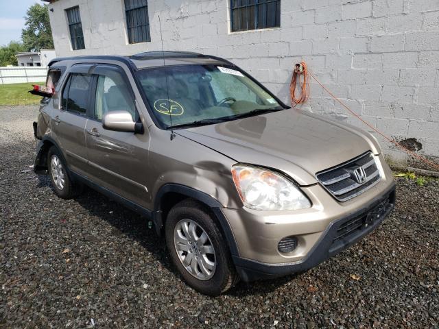Salvage cars for sale from Copart Hillsborough, NJ: 2005 Honda CR-V SE
