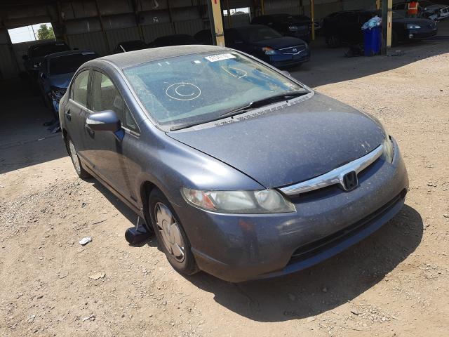 Salvage cars for sale from Copart Phoenix, AZ: 2007 Honda Civic Hybrid