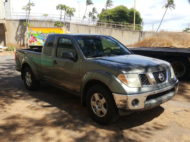 Salvage cars for sale from Copart Kapolei, HI: 2008 Nissan Frontier K